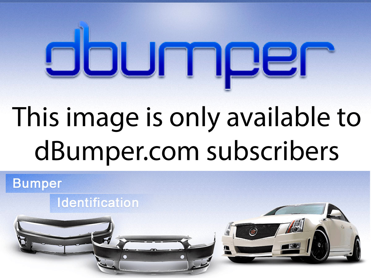 Genuine Bumpers Front Bumper Cover For 2007 2009